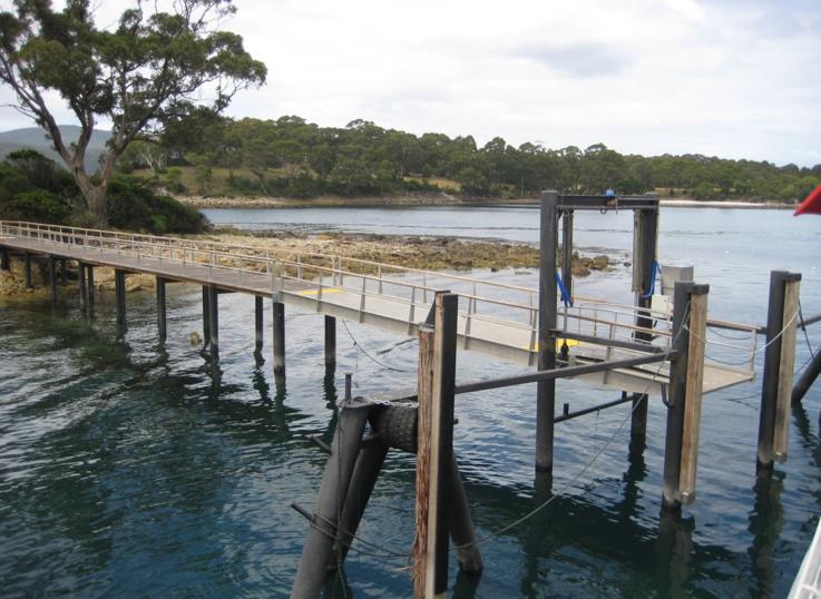 Tas Marine | Isle of the dead Jetty – Port Arthur